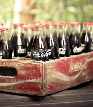 Vintage Coca-Cola Bottles - Obrázkek zdarma pro Nokia C2-01