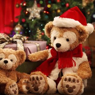 Christmas Teddy Bears - Obrázkek zdarma pro 1024x1024