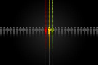 Rasta Abstract - Obrázkek zdarma pro HTC One