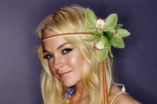 Cute Lindsay Lohan Wallpaper for Android, iPhone and iPad