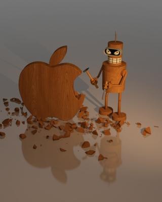 Bender Against Apple - Obrázkek zdarma pro 1080x1920