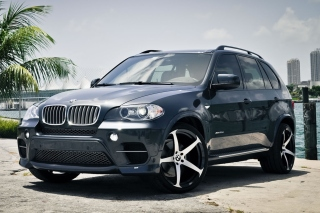 BMW X5 Background for Android, iPhone and iPad