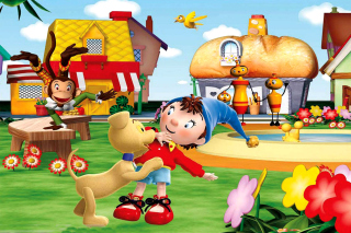 Free Noddy Wallpaper Picture for Android, iPhone and iPad