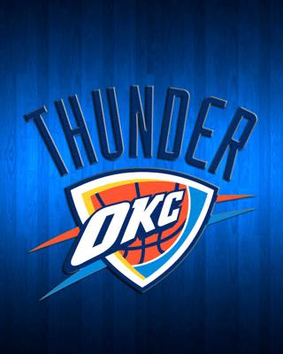 Oklahoma City Thunder - Obrázkek zdarma pro Nokia Asha 503