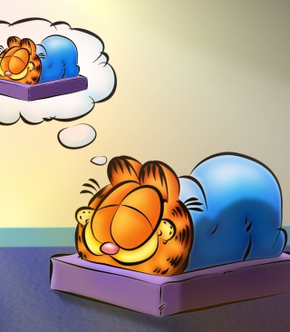 Garfield Sleep - Obrázkek zdarma pro Nokia Lumia 2520