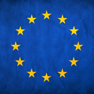 EU European Union Flag - Obrázkek zdarma pro 320x320