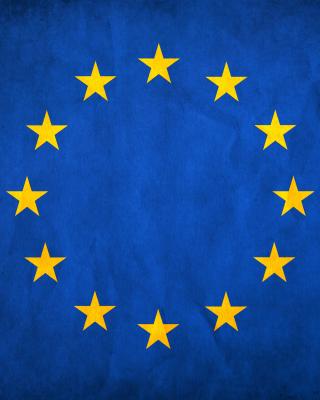 EU European Union Flag - Obrázkek zdarma pro Nokia Asha 305