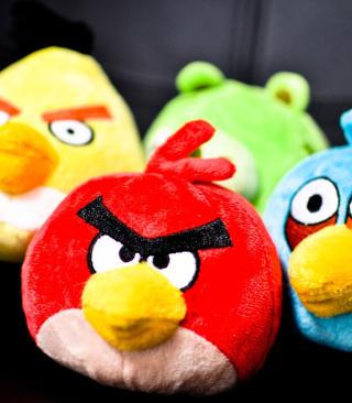 Angry Birds Plush Toy - Obrázkek zdarma pro Nokia C2-03