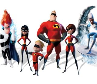 The Incredibles - Obrázkek zdarma pro 208x208