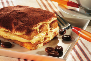 Free Tiramisu Italian Dessert Picture for Android, iPhone and iPad