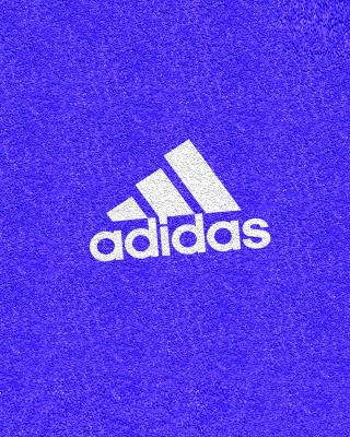Adidas Blue Logo - Obrázkek zdarma pro 176x220