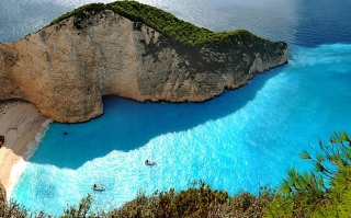 Blue Lagoon Wallpaper for Android, iPhone and iPad