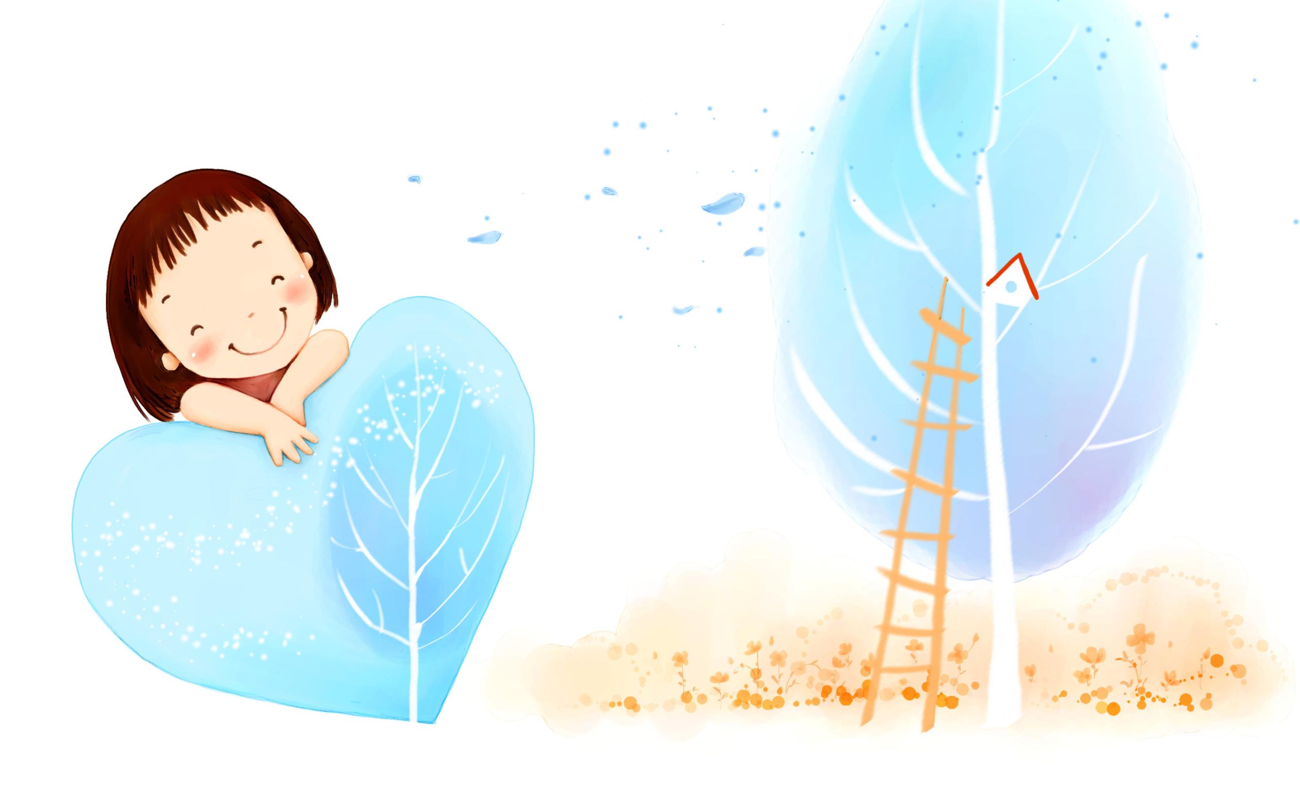 графика рисунок мальчик девочка  № 3349780 бесплатно
