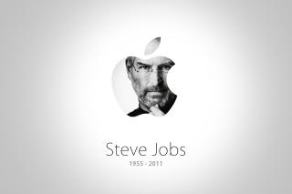 Steve Jobs Apple - Obrázkek zdarma pro HTC Desire 310