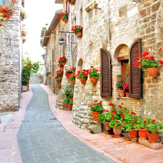 Italian Streets on Garda - Obrázkek zdarma pro iPad 3
