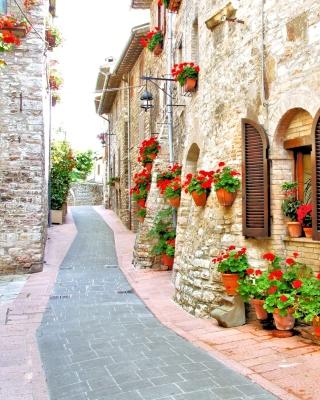Italian Streets on Garda - Obrázkek zdarma pro 640x960