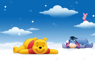 Winnie The Pooh Background for Android, iPhone and iPad