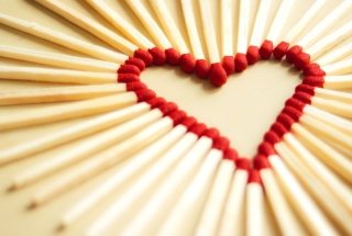 Love Matchsticks Wallpaper for Android, iPhone and iPad