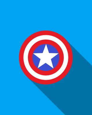 Captain America - Obrázkek zdarma pro 352x416