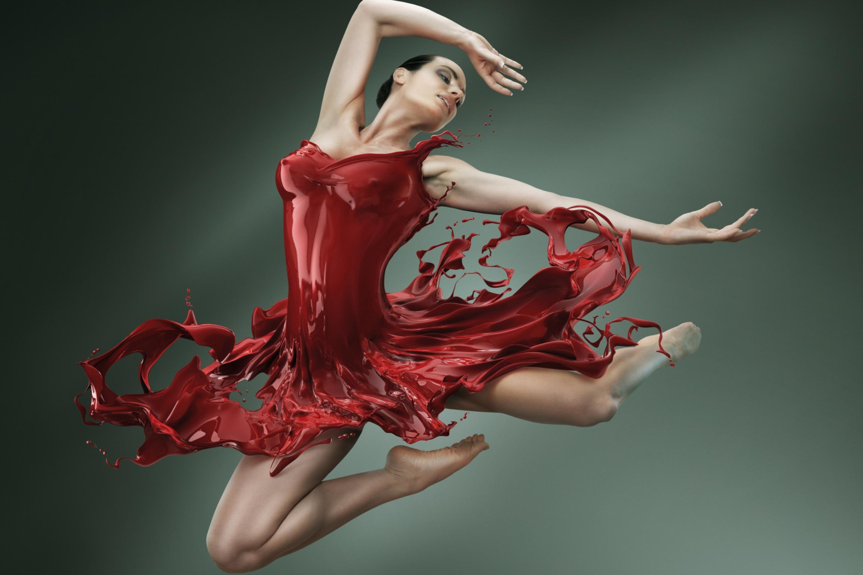 Танец красивой девушки  № 350483 без смс