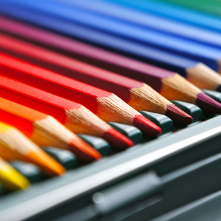Coloured Pencils - Obrázkek zdarma pro 1024x1024