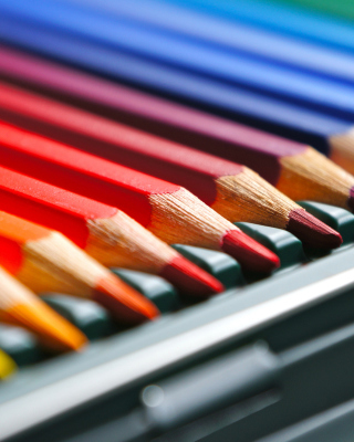 Coloured Pencils - Obrázkek zdarma pro Nokia Asha 306