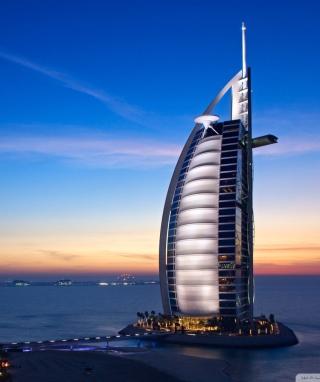 Tower Of Arabs In Dubai - Obrázkek zdarma pro Nokia Asha 311