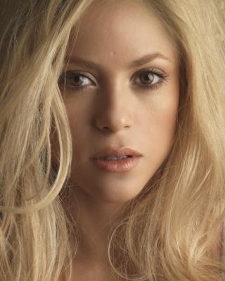 Blonde Shakira - Obrázkek zdarma pro 128x160