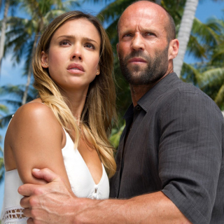 Mechanic Resurrection, Jason Statham, Mechanic 2, Jessica Alba - Obrázkek zdarma pro iPad mini