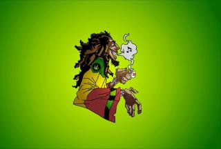 Bob Marley - Obrázkek zdarma pro LG P700 Optimus L7
