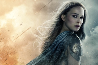 Natalie Portman In Thor 2 Wallpaper for Android, iPhone and iPad