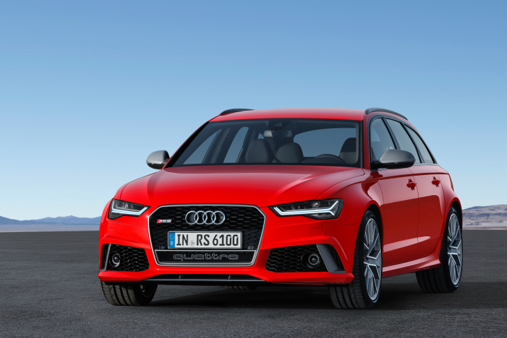 2016 Audi RS6 Avant Red wallpaper