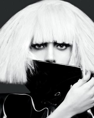 Lady Gaga Black And White - Obrázkek zdarma pro Nokia Lumia 2520
