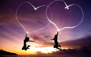 Love Is In Air Picture for Android, iPhone and iPad