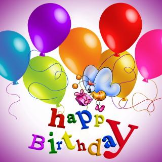 Happy Birthday - Obrázkek zdarma pro iPad mini