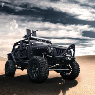 Jeep Wrangler for Army - Obrázkek zdarma pro 1024x1024