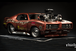 Pontiac GTO Monster Background for Android, iPhone and iPad