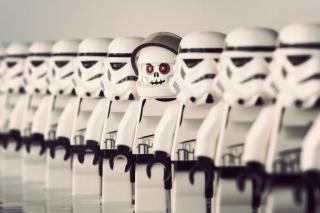 Star Wars Lego - Obrázkek zdarma pro Fullscreen 1152x864