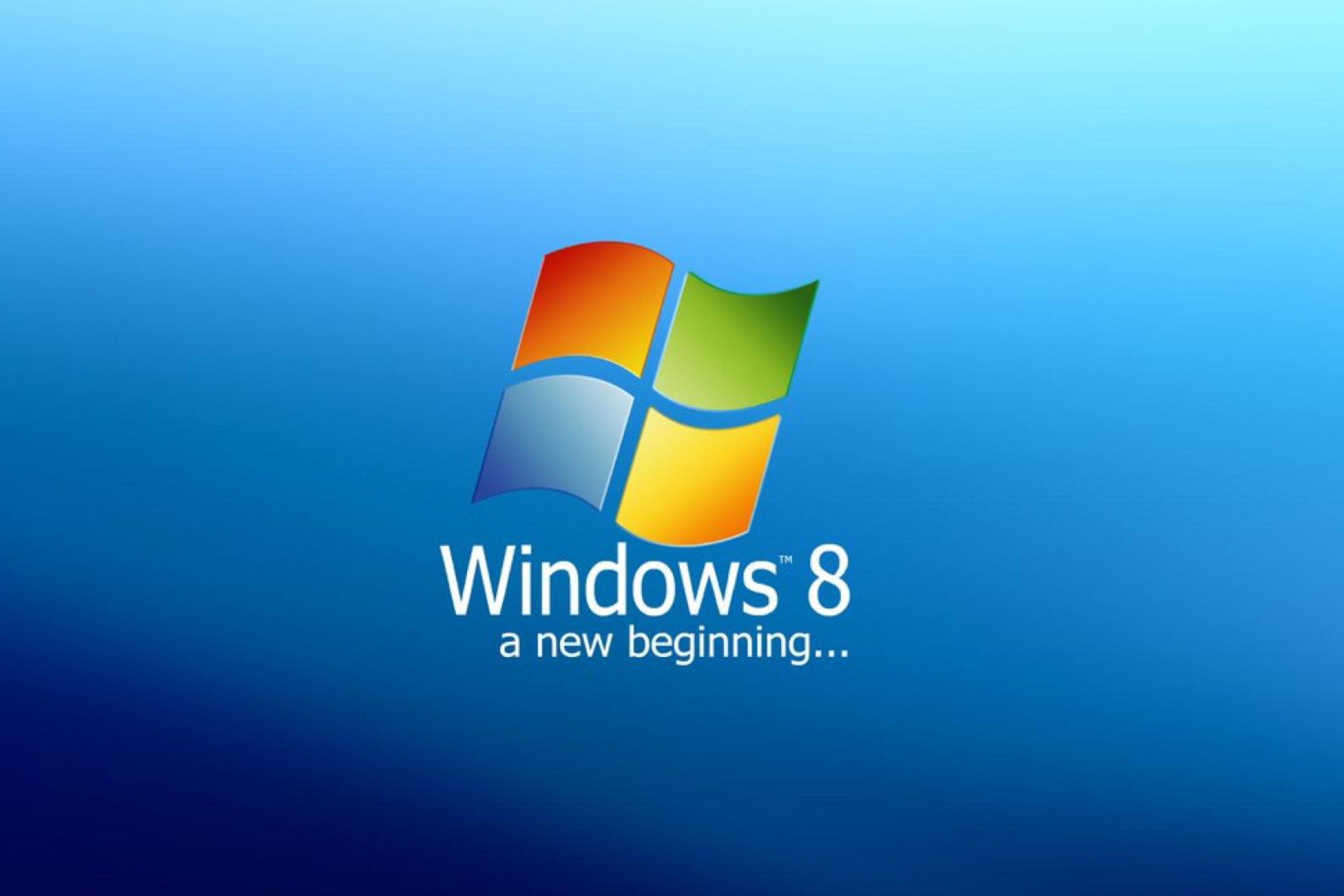 A New Beginning Windows 8 Papel De Parede Para Celular