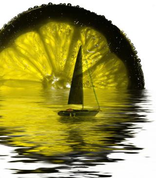 Lime Boat - Obrázkek zdarma pro 480x854