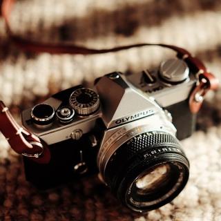 Olympus Camera - Obrázkek zdarma pro 128x128