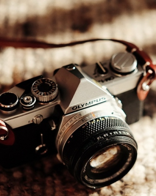 Olympus Camera - Obrázkek zdarma pro 128x160