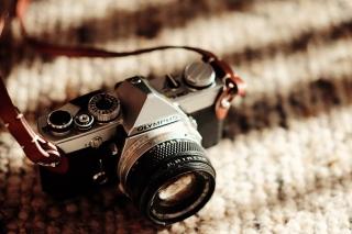 Olympus Camera - Obrázkek zdarma pro Nokia Asha 302