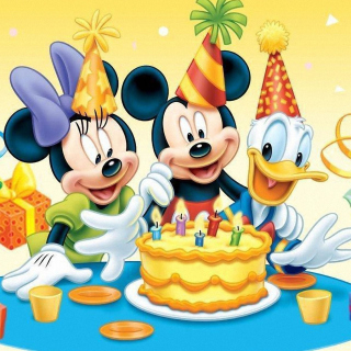 Mickey Mouse Birthday - Obrázkek zdarma pro iPad mini
