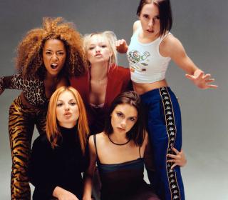 Spice Girls Background - Obrázkek zdarma pro 320x320