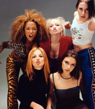 Spice Girls Background - Obrázkek zdarma pro 768x1280