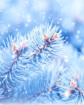 Snow on cones - Obrázkek zdarma pro Nokia Asha 306