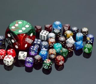Casino Dices for Craps - Obrázkek zdarma pro 208x208