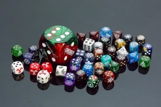 Casino Dices for Craps Picture for Android, iPhone and iPad