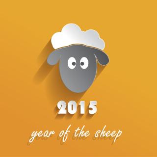 Year of the Sheep 2015 - Obrázkek zdarma pro 208x208